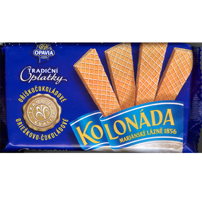 Kolonada wafers with choco-nut filling