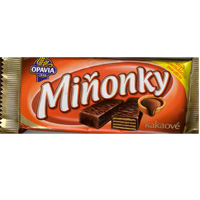 Minonky  - cocoa wafers in dark chocolate