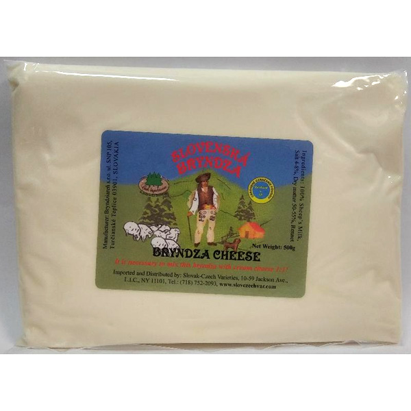 Bryndza 100% Sheep Cheese Concentrate! You will make double!
