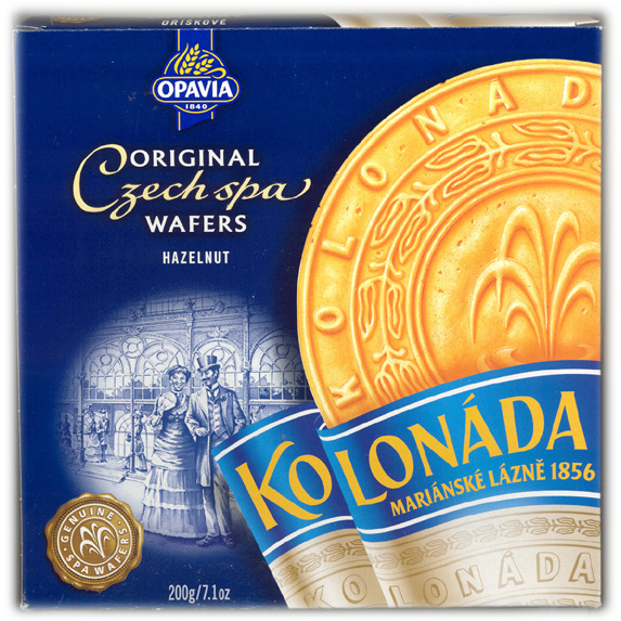 Kolonada - Original Czech Spa Wafers Hazelnut
