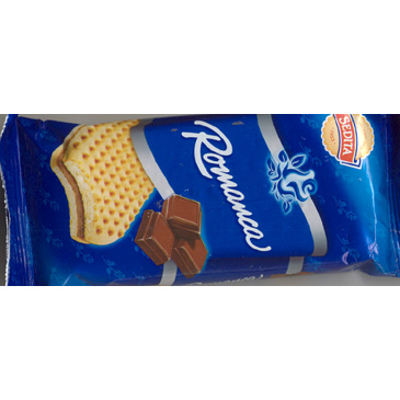 Romanca biscuits with cocoa cream