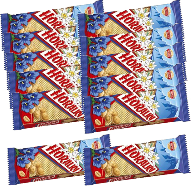 Horalky peanut wafers SPECIAL 10+2