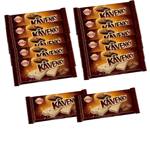 Coffee wafers - kavenky SPECIAL 10+2