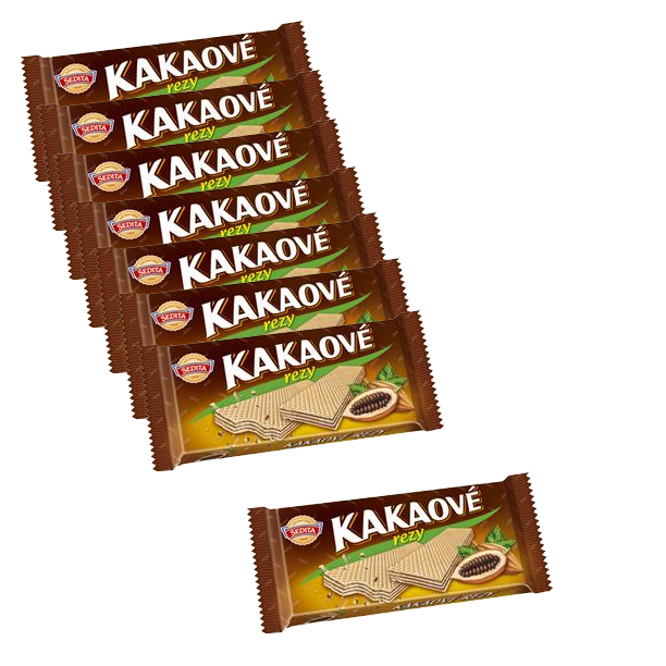 Cocoa wafers - kakaove rezy SPECIAL 7+1