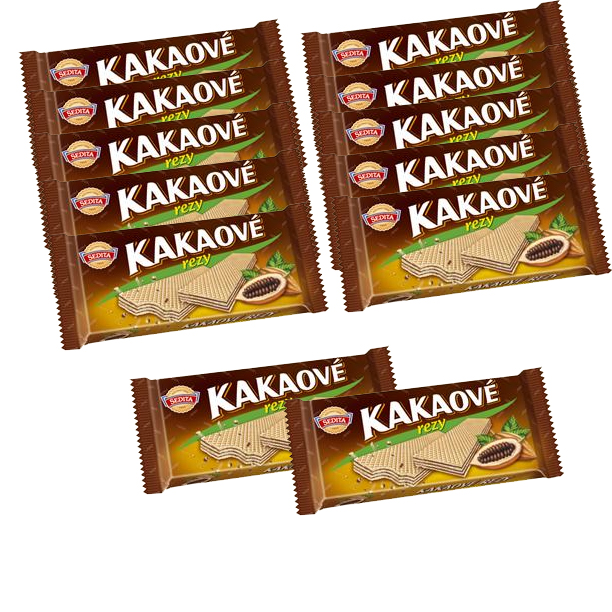Cocoa wafers - kakaove rezy SPECIAL 10+2