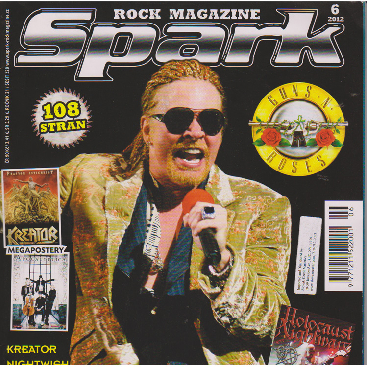 Spark Rock Magazin - 6 month subscription