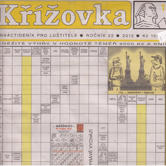 Krizovka  cz- 6 month subscription