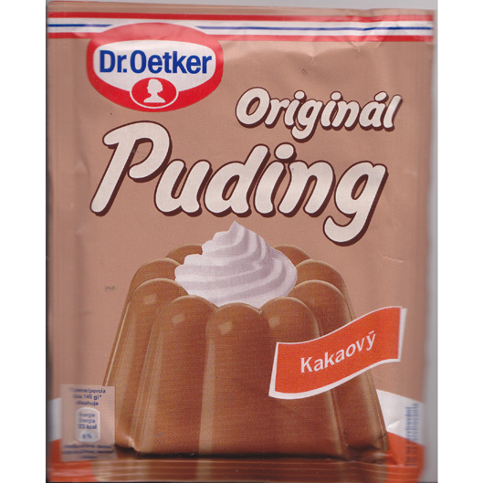 Pudding cocoa - Dr. Oetker