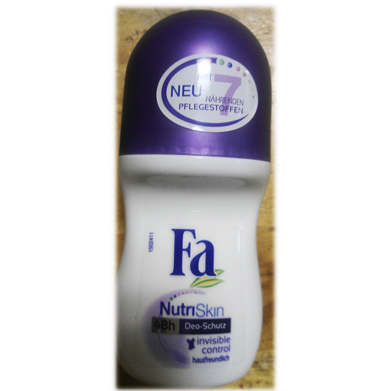 FA antiperspirant for woman - Nutri Skin Invisible Control