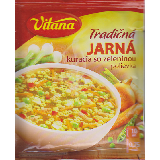 Soup - spring with chicken - Vitana