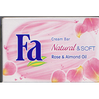 Fa Bar Soap Natural & Soft Rose & Almond Oil