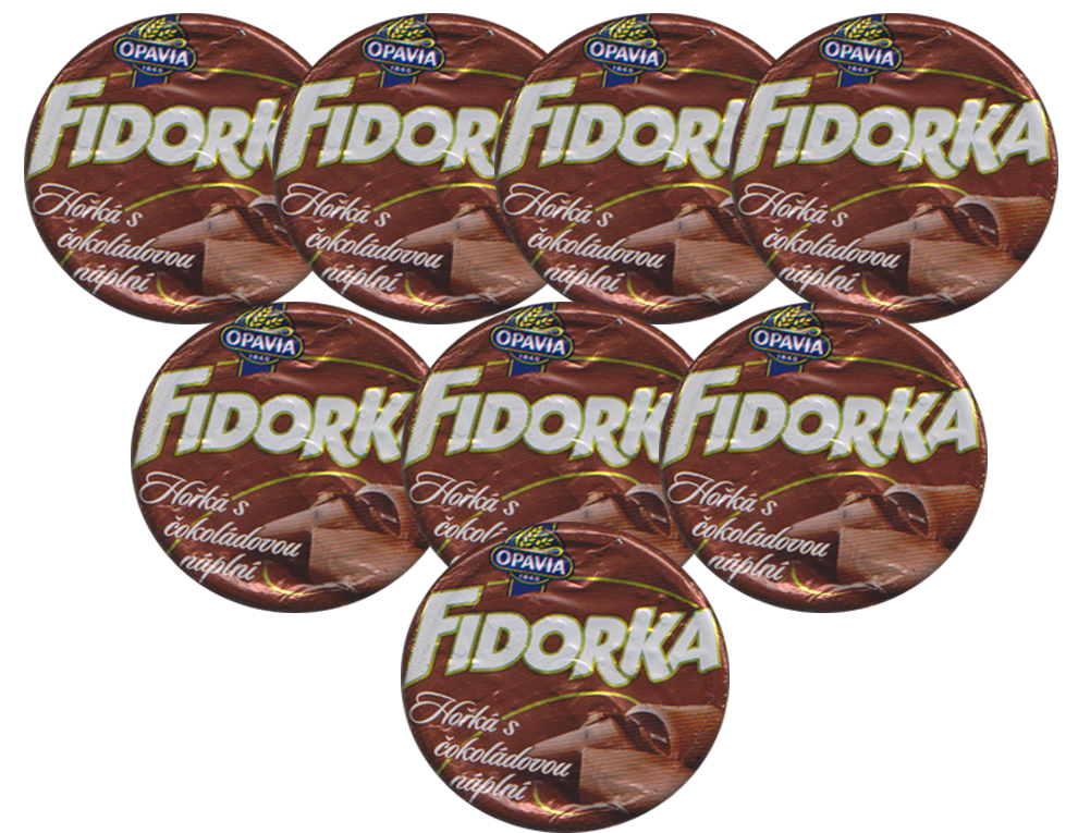 Fidorka in dark chocolate brown SPECIAL 7+1