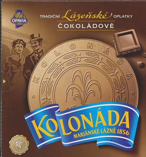 Kolonada spa chocolate wafers