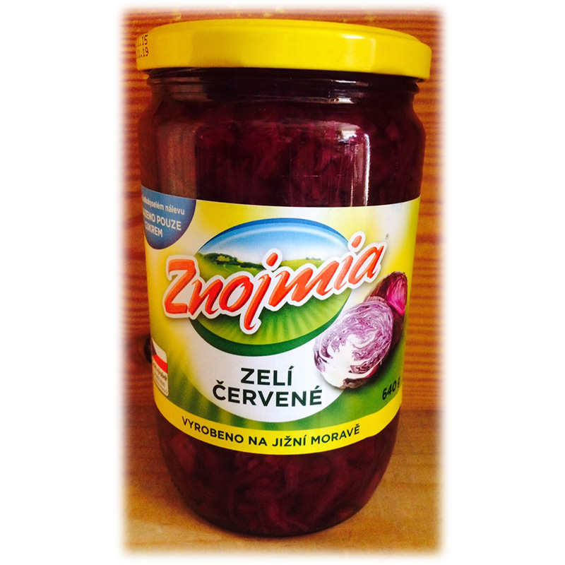 Red cabbage pickled Znojmia
