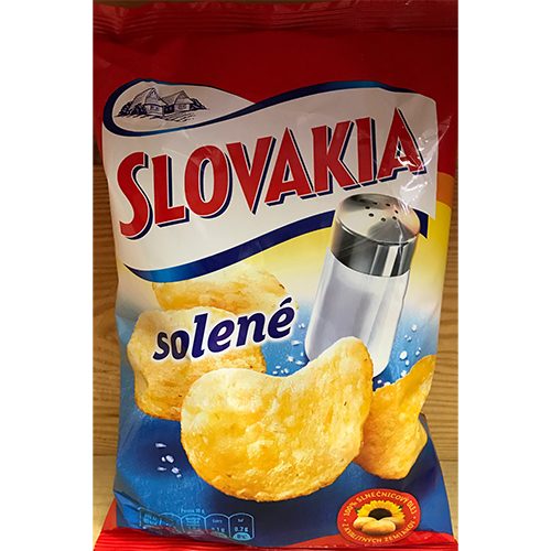 Slovakia chips - salty