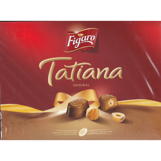 Tatiana hazelnut chocolate box 129g