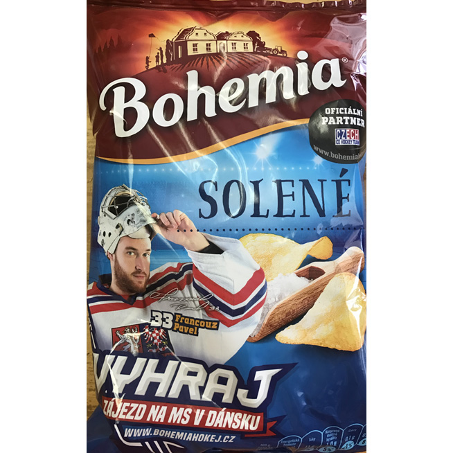 Bohemia Potato Chips salty