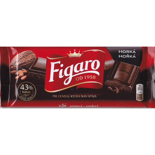 Figaro dark chocolate