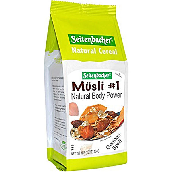 Muesli  Natural Body Power Seitenbacher