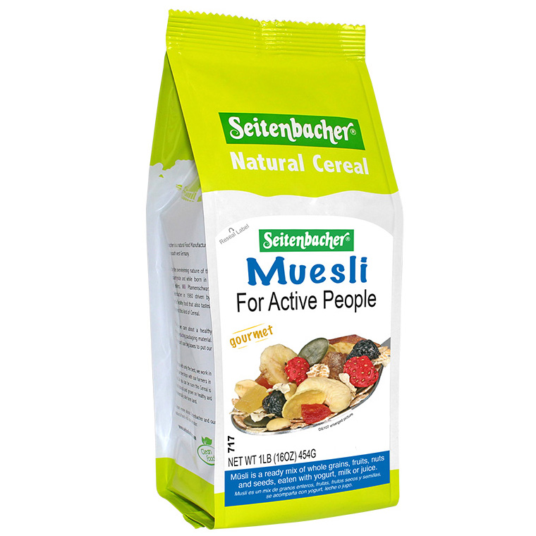 Muesli For Active People Seitenbacher