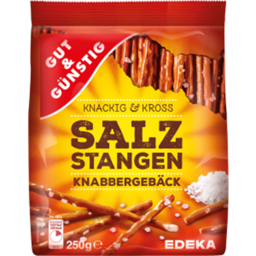 Salted sticks 250g Made in Germany