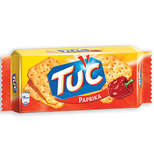 TUC Paprika Flavored Crackers Oven Baked
