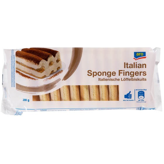 Sponge Fingers Italian (Made in Germany)