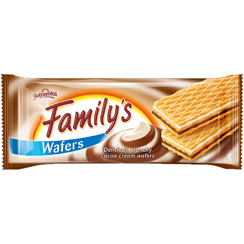 Family's wafers with cocoa cream 180g