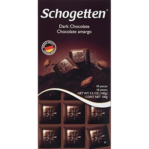 Chocolate Schogetten Dark