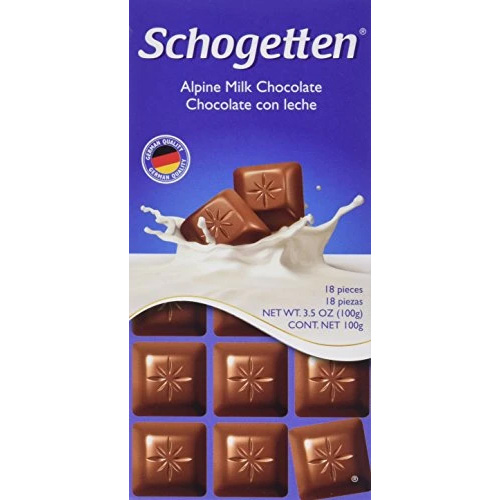 Chocolate Schogetten Alpine Milk