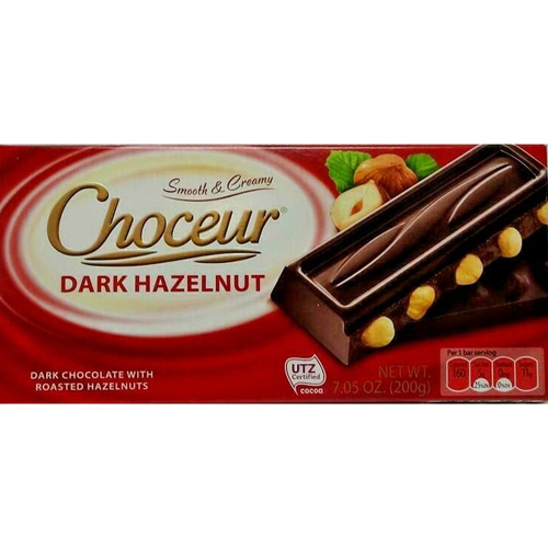 Chocolate Choceur Dark Hazelnut German