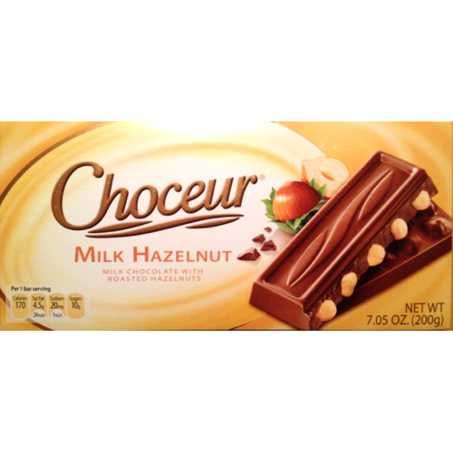 Chocolate Choceur Milk Hazelnut German