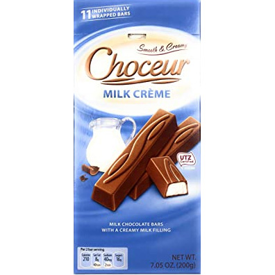 Chocolate Choceur Milk Cream sticks German