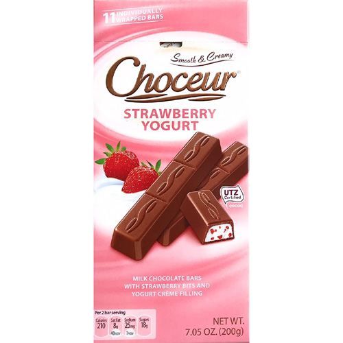 Chocolate Choceur Strawberry yogurt sticks German