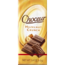 Chocolate Choceur Hazelnut Crunch 40g