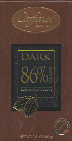 Dark chocolad 86% Caffarel