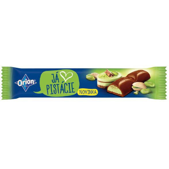 Ja Pistacie Orion chocolate bar