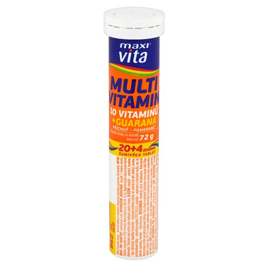 Multivitamin Maxi Vita 24 effervescent tablets