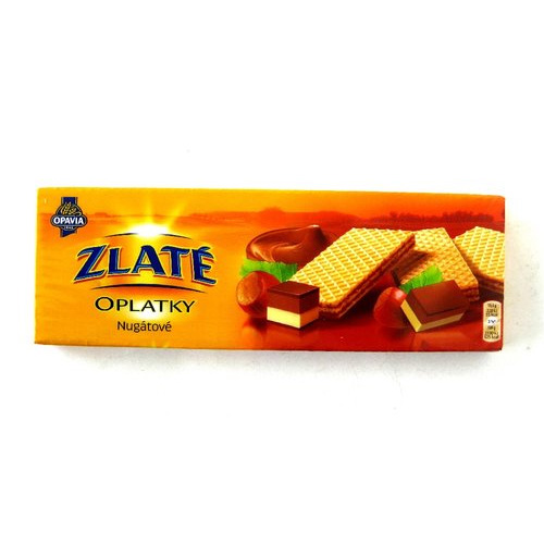 Golden Wafers Nougat