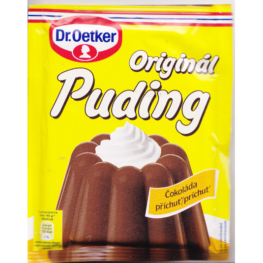 Pudding Chocolate Dr. Oetker