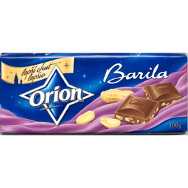 Orion Milk chocolate with peanuts - Barila